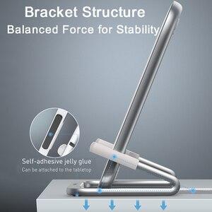 Image 4 - Baseus 15W bezprzewodowa ładowarka qi stojak na iphonea 11 Pro X XS Samsung S20 S10 S9 S8 szybka bezprzewodowa stacja ładująca z uchwytem