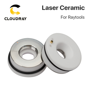 Image 4 - Cloudray Laser Ceramic 32mm/ 28.5mm OEM Raytools Lasermech Bodor Nozzle Holder For Fiber Laser Cutting Head