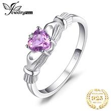 купить 2016 Kate Princess Diana William  Amethyst Engagement Wedding Ring For Women Love Lady Set 925 Sterling Silver Fine Jewelry по цене 325 рублей
