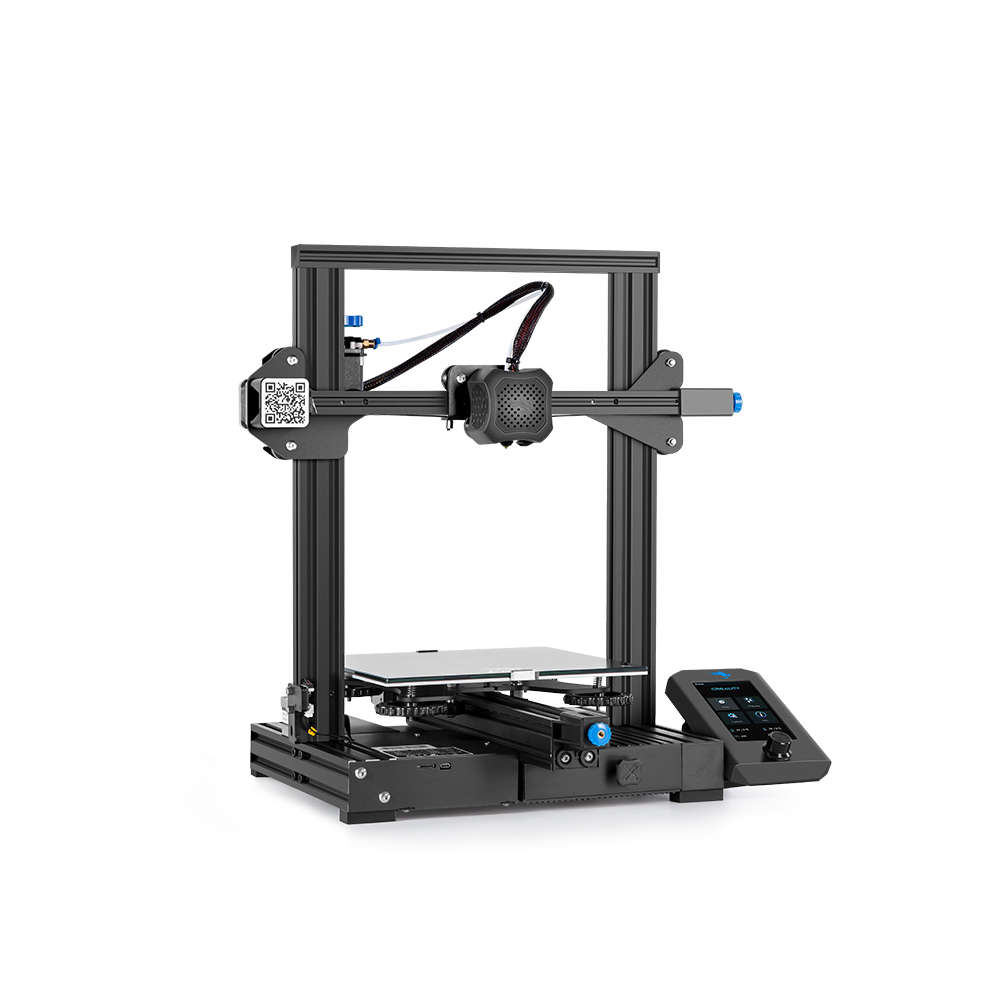 lowest price CREALITY 3D Printer Kit Ender-3 V2 Printer for kits With 32 Bit Silent Mainboard New UI Display Screen Resume Printing