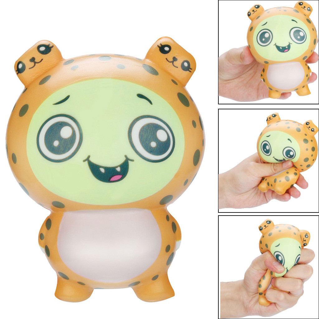 Squishies Squishy Toy Kawaii Adorable Leopard Toy Slow Rising Cream Scented Stress Relief Toys Gifts Squishy Toys Juguetes