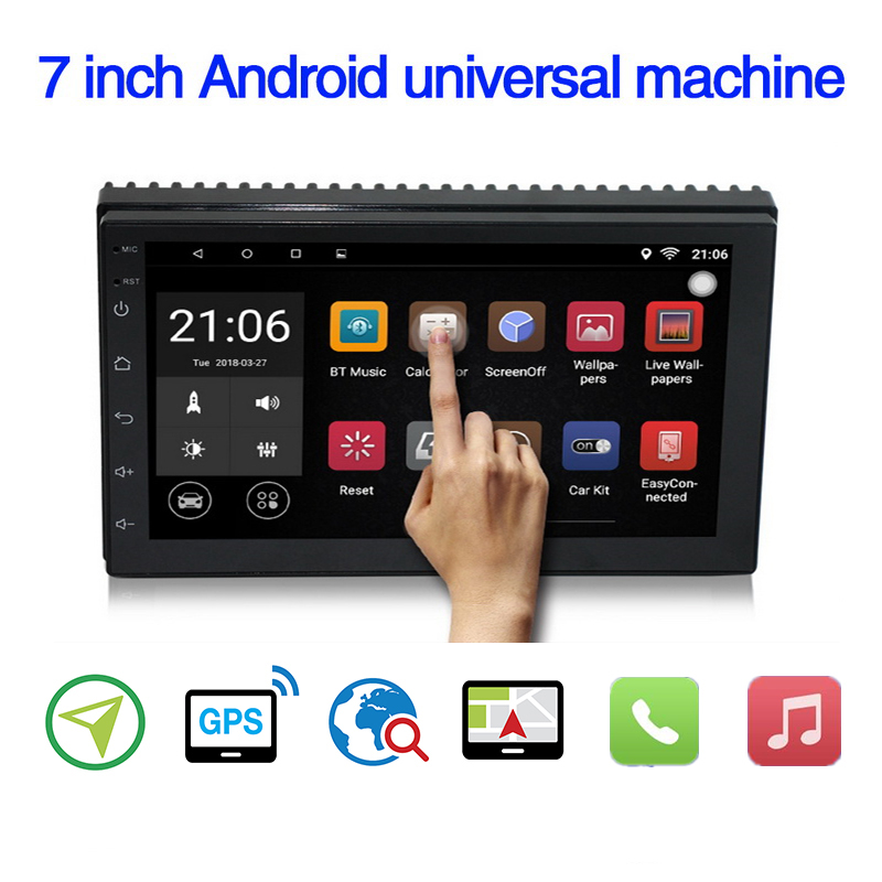 Multimedia-Player Autoradio Rear-View-Camera Stereo Android 8.1 Universal Nissan Ford