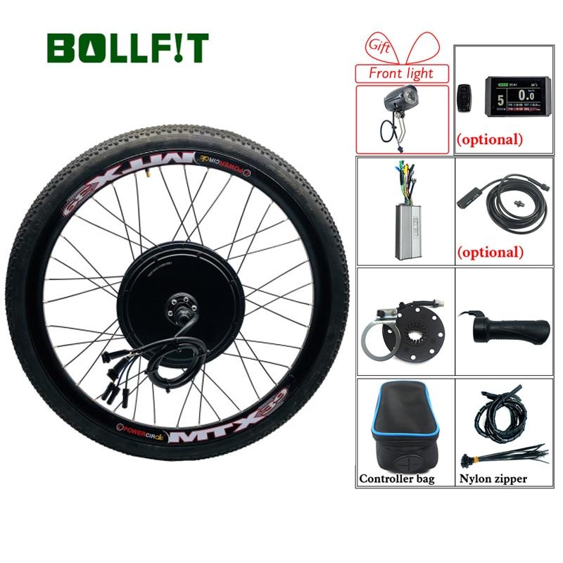 Ebike Kit 48V 1000W 1500W Hub Motor Rad KT LCD Elektrische Fahrrad Conversion Kit für Elektrische bike