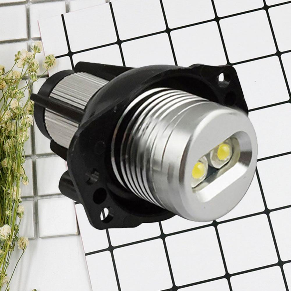 20W High-power Vehicle LED Light Angel Eyes LED Work Light Compatible for E90 E91 3 Series (White Light)