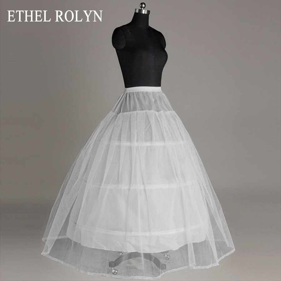 ETHEL ROLYN Crinoline A Line Wedding Petticoat