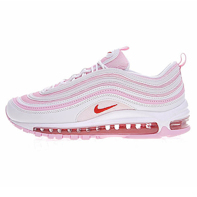 US $76.0 62% OFF|Original Authentic Nike Air Max 97 Women's Running Shoe Sneakers Shock Absorbing Good Quality Comfortable New Arrival 923288 300 on