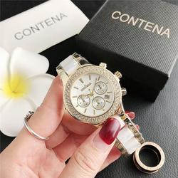 Новые модные бриллиантовые Наручные часы с маленьким циферблатом с тремя глазами, оптовая продажа с фабрики
