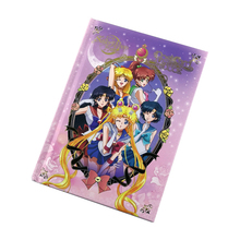 Anime Sailor Moon 25th Anniversary Book Postcard Book Cosplay Accessories Collection Home Wall Decor for Girl Gifts