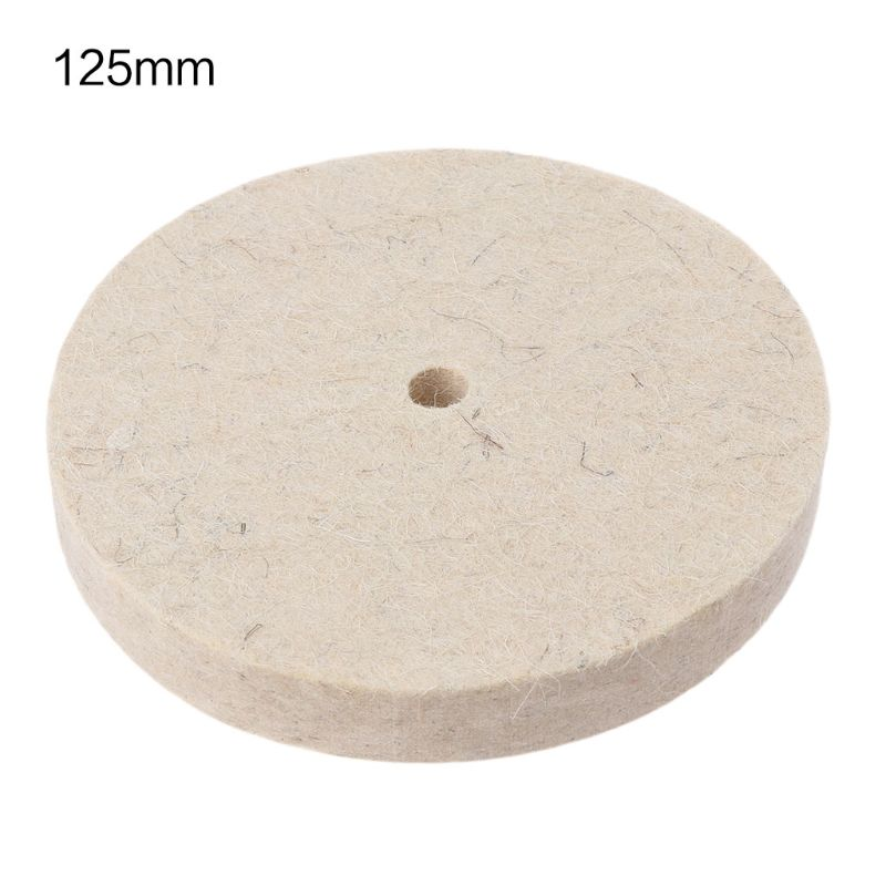 Drill Grinding Wheel Buffing Wheel Felt Wool Polishing Pad Abrasive Disc For Bench Grinder Rotary Tool 40JE
