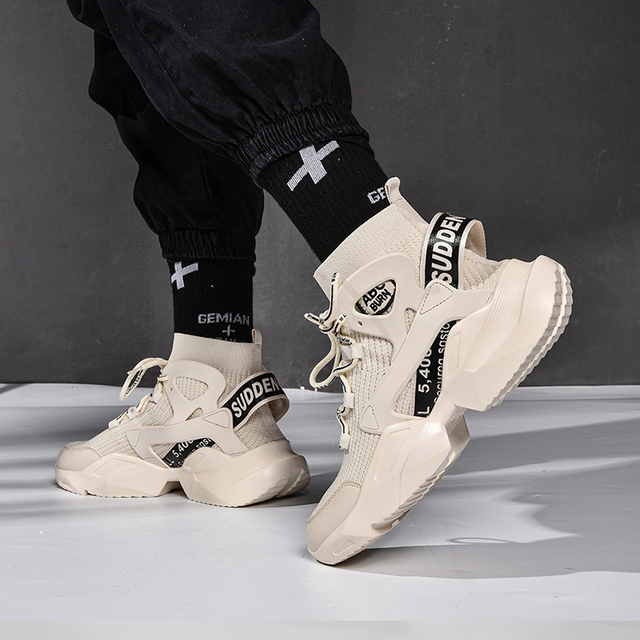 Chunky High-top Sneakers 3