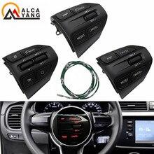 Steering Wheel Button For KIA K2 RIO 2017 2018 2019 RIO X LINE Buttons Bluetooth Phone Cruise Control Volume .