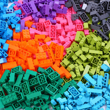 цена на 1000Pcs City Building Blocks Creative Bulk Sets Compatible With DIY Educational bricks Assembly Toys for children