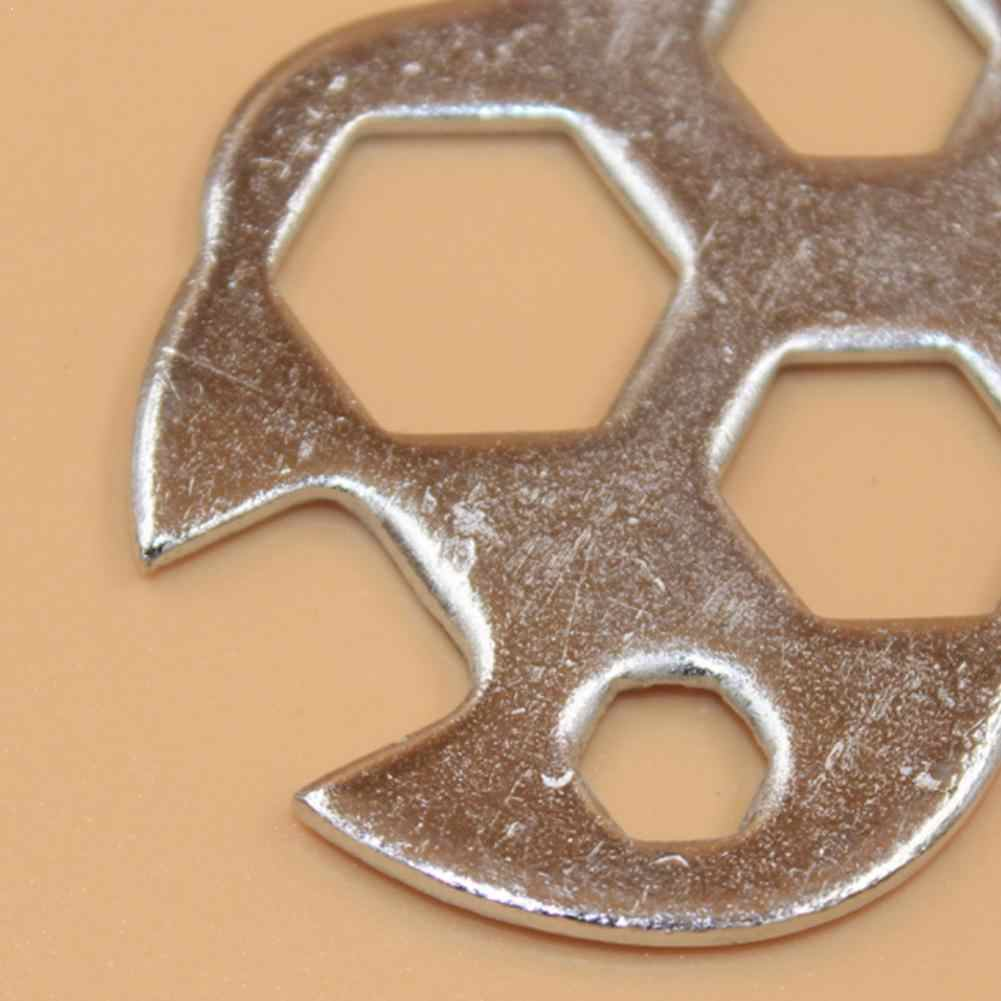 1 adet çok amaçlı taşınabilir anahtarı 8-17mm altıgen anahtar anahtarı aracı tamir bisiklet el aletleri tamir bisiklet Y4K4