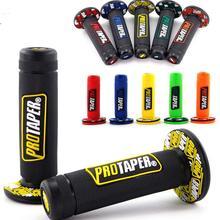 Протейпер для мотоцикла, рукоятка для мотокросса, рукоятка для грязного питбайка, 7/8 дюймов, руль, резиновый гель, двойная плотность, MX ручки