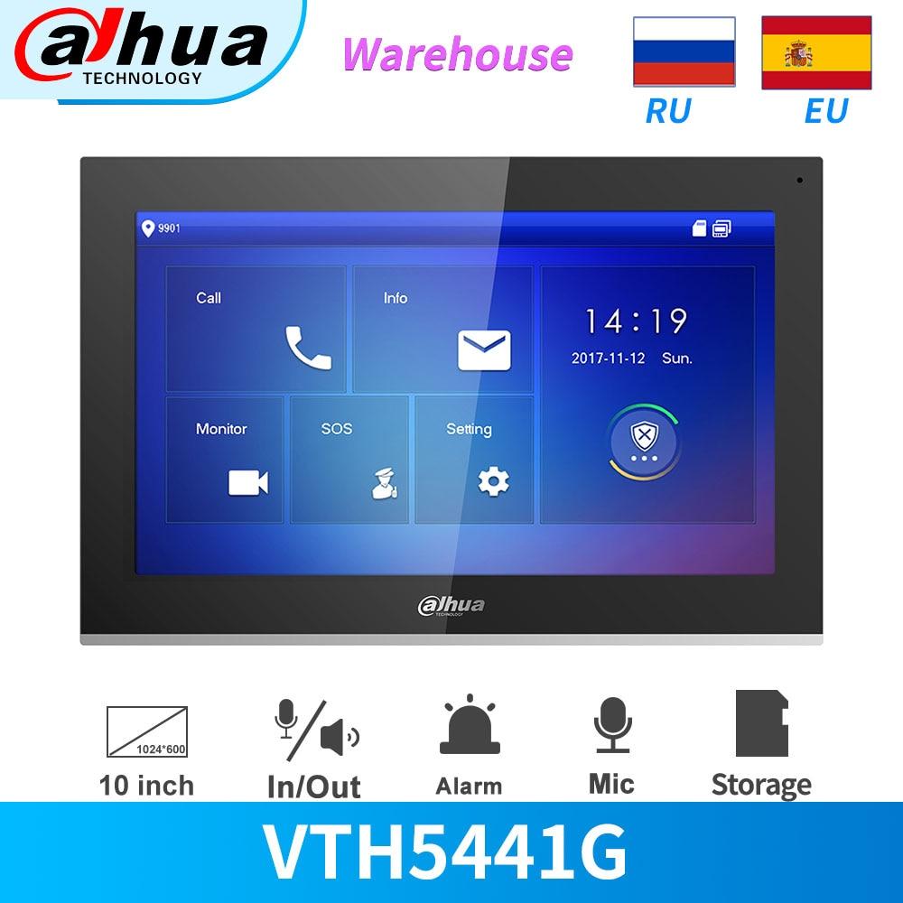 """Dahua, Video, intercomunicador cubierta Digital Monitor PoE VTH5441G 10 """"Pantalla táctil capacitiva 1024 × 600 alarma integración registro y instantánea"""