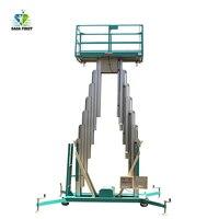 CE 승인 6-12m 더블 Masts 알루미늄 공중 작업 플랫폼