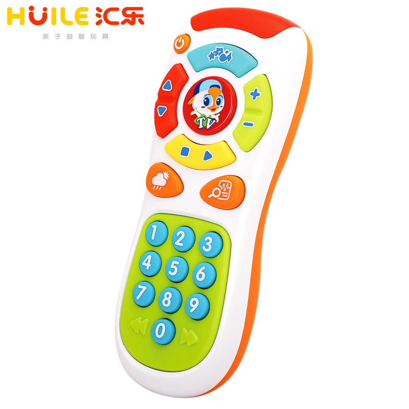 Department Of Music 757 Explore Remote Control Toy Music Kids 1-3 Years Old 8 Months Baby Toy CHILDREN'S Mobile Phone