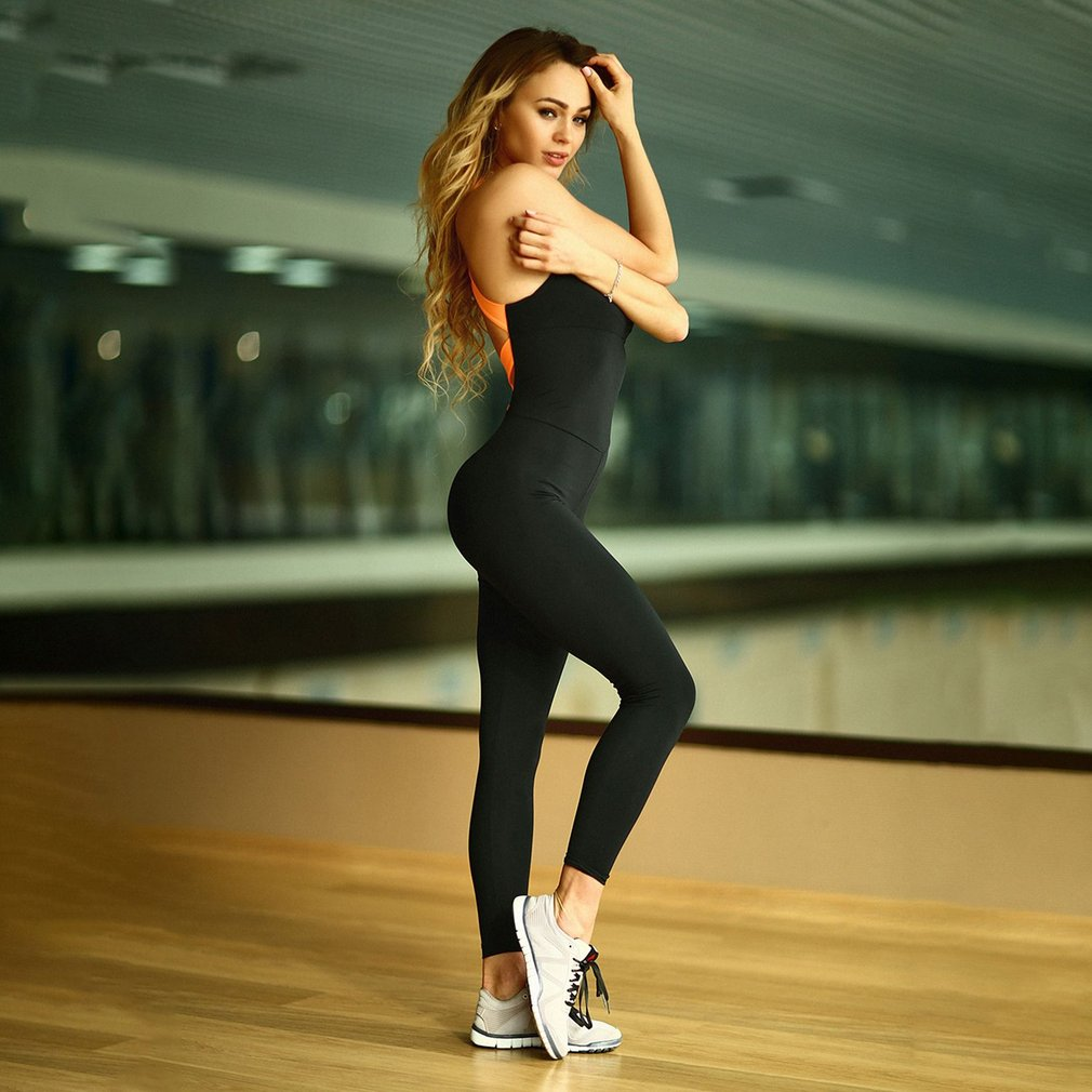 Fashion High Elasticity Gym Clothing Suit For Women 3