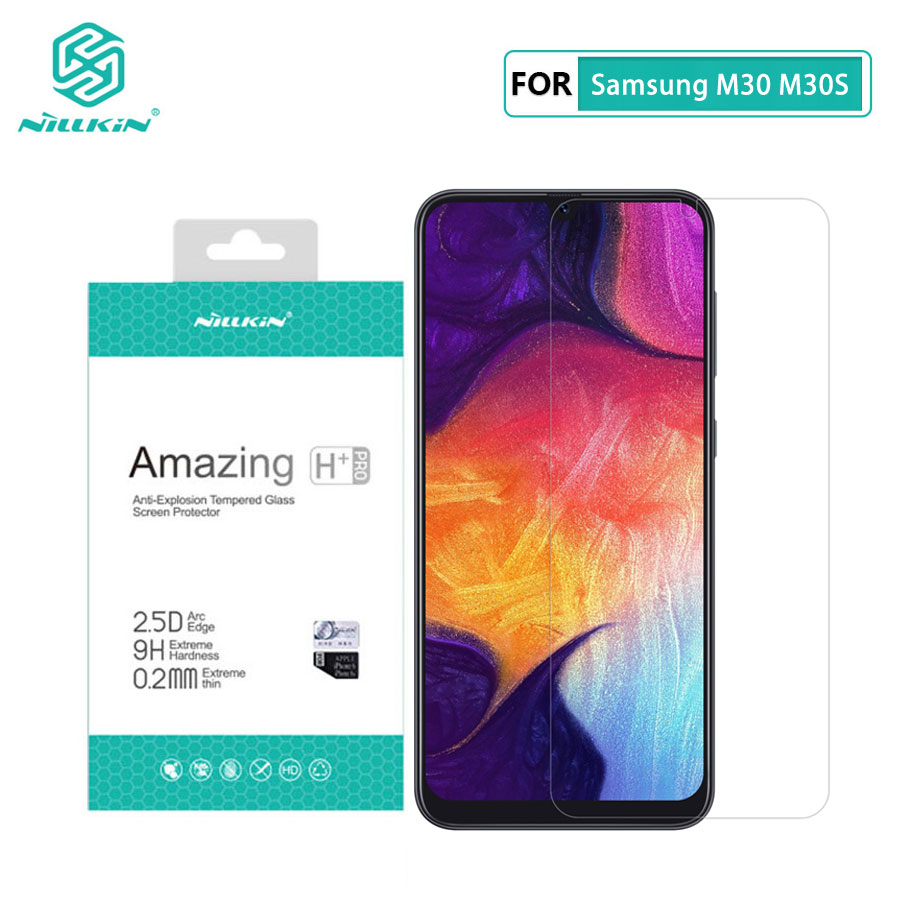 for Samsung Galaxy M30S Glass Nillkin Amazing H+Pro 0.2MM Screen Protector Tempered Glass for Samsung Galaxy M30 M30S