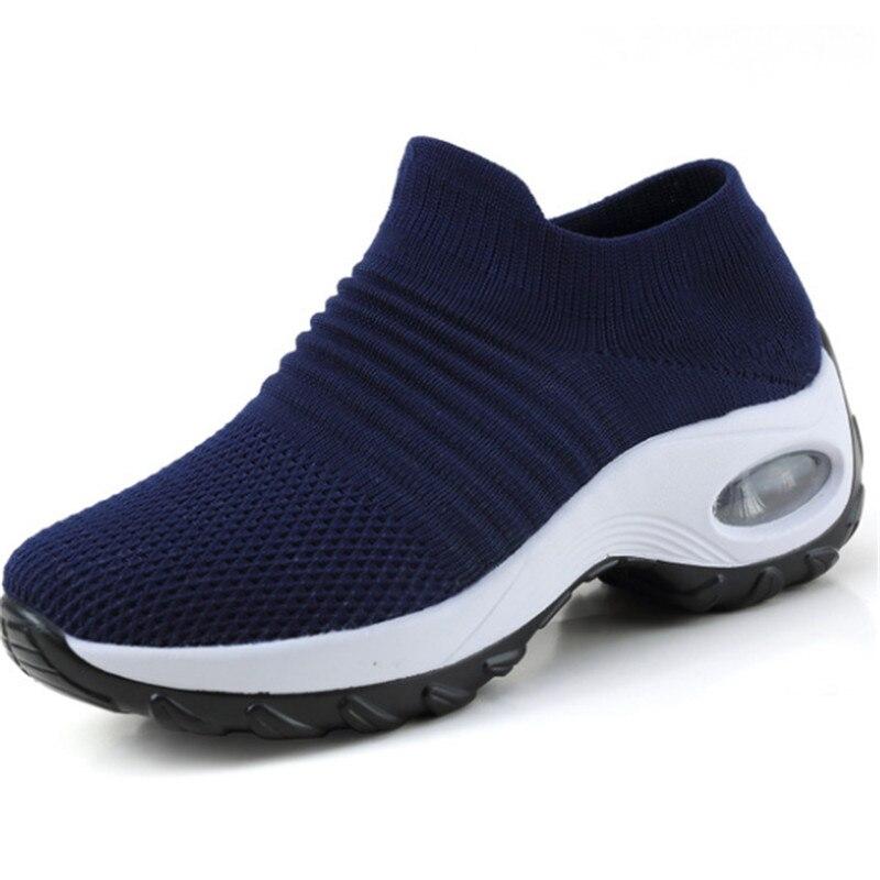 Image 5 - Zapatillas Mujer חדש נשים סניקרס tenis feminino גרב אוויר דעיכת מזדמן גופר נעלי scarpe דונה buty damskie גודל 35  42נעליים מגופרות לנשיםנעליים -