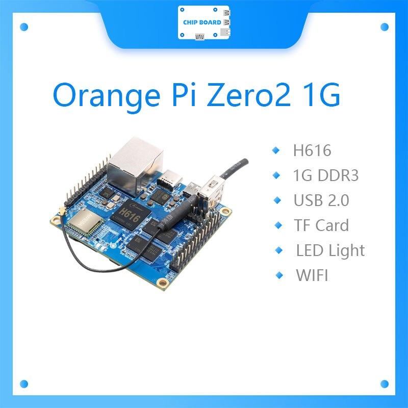 ОЗУ Orange Pi Zero 2,1 Гб с чипом Allwinner H616, поддержка Gigabit Network, BT, Wif ,Run Android 10,Ubuntu,Debian OS, одна плата