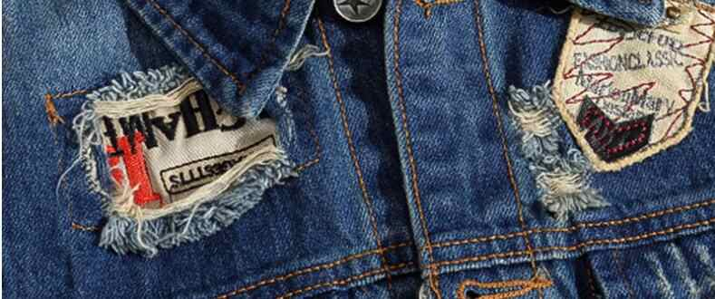 VXO プラスサイズ 5XL 男性の男性クラシックヴィンテージノースリーブジャケットパッチパンクロックスタイルリッピングカウボーイデニムベスト