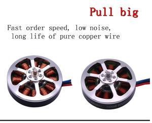Image 3 - Venda quente 6 pces 5008 kv400/kv335 brushless outrunner motor cw/ccw rc zangão acessórios