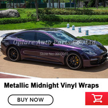 Highest quality metallic Midnight purple vinyl wrap Car Wrapping Paper black cherry ice vinyl quality Warranty 5m/10m/18m
