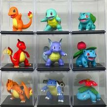 TAKARA TOMY – figurine d'action Pokemon authentique, poupée de première génération MC Bulbasaur Ivysaur Charmander squirt Charizard Venusaur