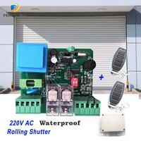 1 Uds RECEPTOR + 2 uds control remoto 220v de obturador receptor rf control remoto hcs301 rf controlador remoto