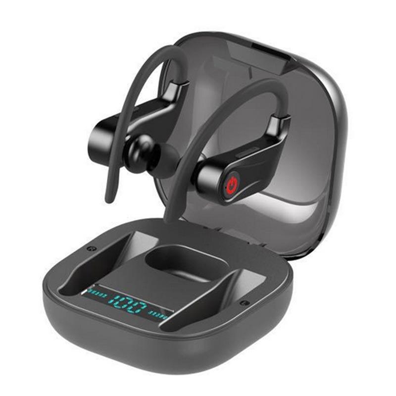 Para HBQ PRO TWS 5.0V Bluetooth Fone de Ouvido Estéreo Fones de Ouvido Sem Fio Mini Fone de Ouvido fone de Ouvido À Prova D' Água com 950mAh Banco De Potência fone de ouvido