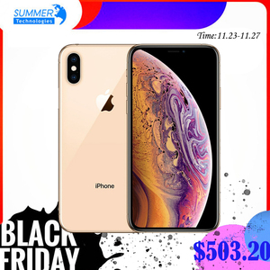 unlocked Apple original iPhone XS Face ID NFC Smartphone Hexa-core Apple Pay 5.8inch