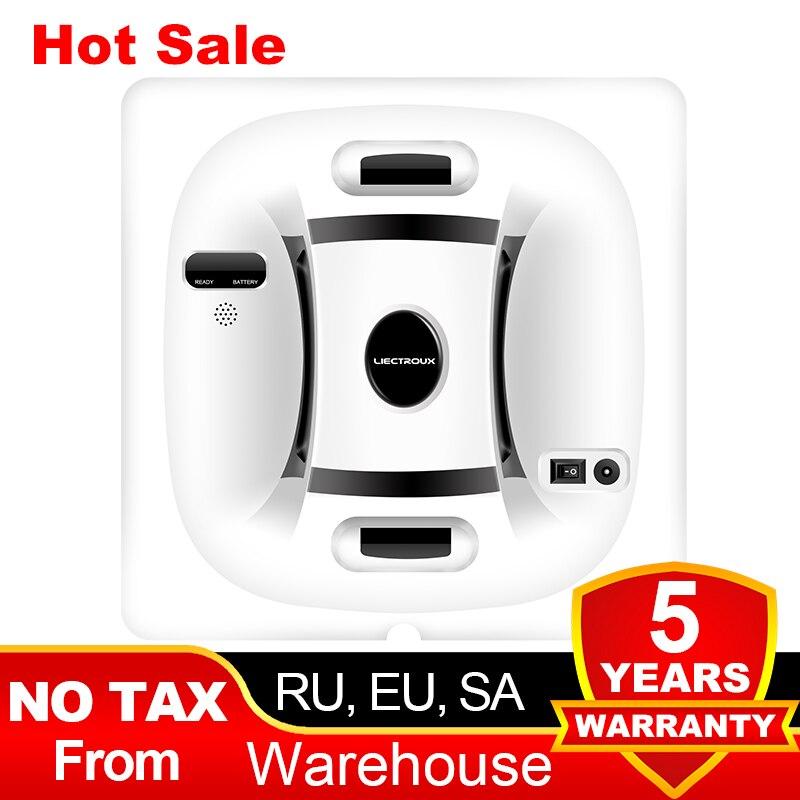 Liectroux X6 Robot Window Vacuum Cleaner Laser & Pressure Sensor Antifall Auto Glass Mop Home Floor Windows Wall Cleaning Robot|Vacuum Cleaners| - AliExpress
