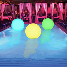 LED Light Ball Inflatable Growing Ball With pump PVC Remote Control LED Ball Decorative