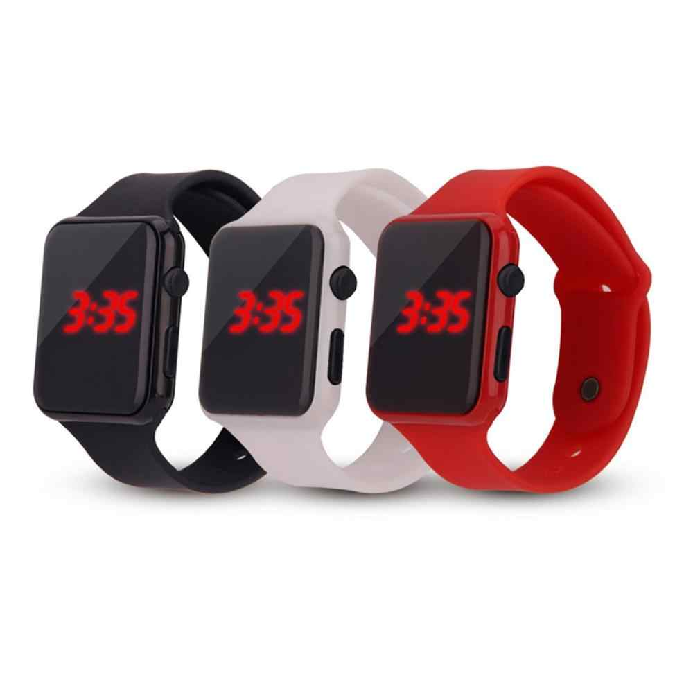 Digital Watch Men's Women's Sports LED Watches Silicone Electronic Colorful Wristwatches Electronic Clock digital Fashion Clock