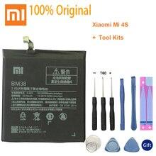 XiaoMi Original Replacement Battery BM38 For Xiaomi Mi 4S M4s 100% New Authentic Phone Battery 3260mAh brand new original authentic gro m5b
