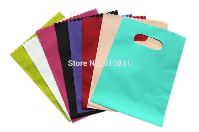 Plastic Gift Bags,jewelry Packaging Pouches, Colorful Plastic shopping bags,Gift Packaging Pouches  20pcs/lot