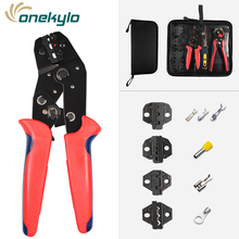 цена на SN-02C Crimping pliers set for terminals crimp hand tools Suitable for all kinds of insulated and non-insulated/xh2.54 terminals