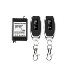 433MHz universal wireless remote control DC 12V, with ONOFF remote control, for access control switch, with delay function 1 120