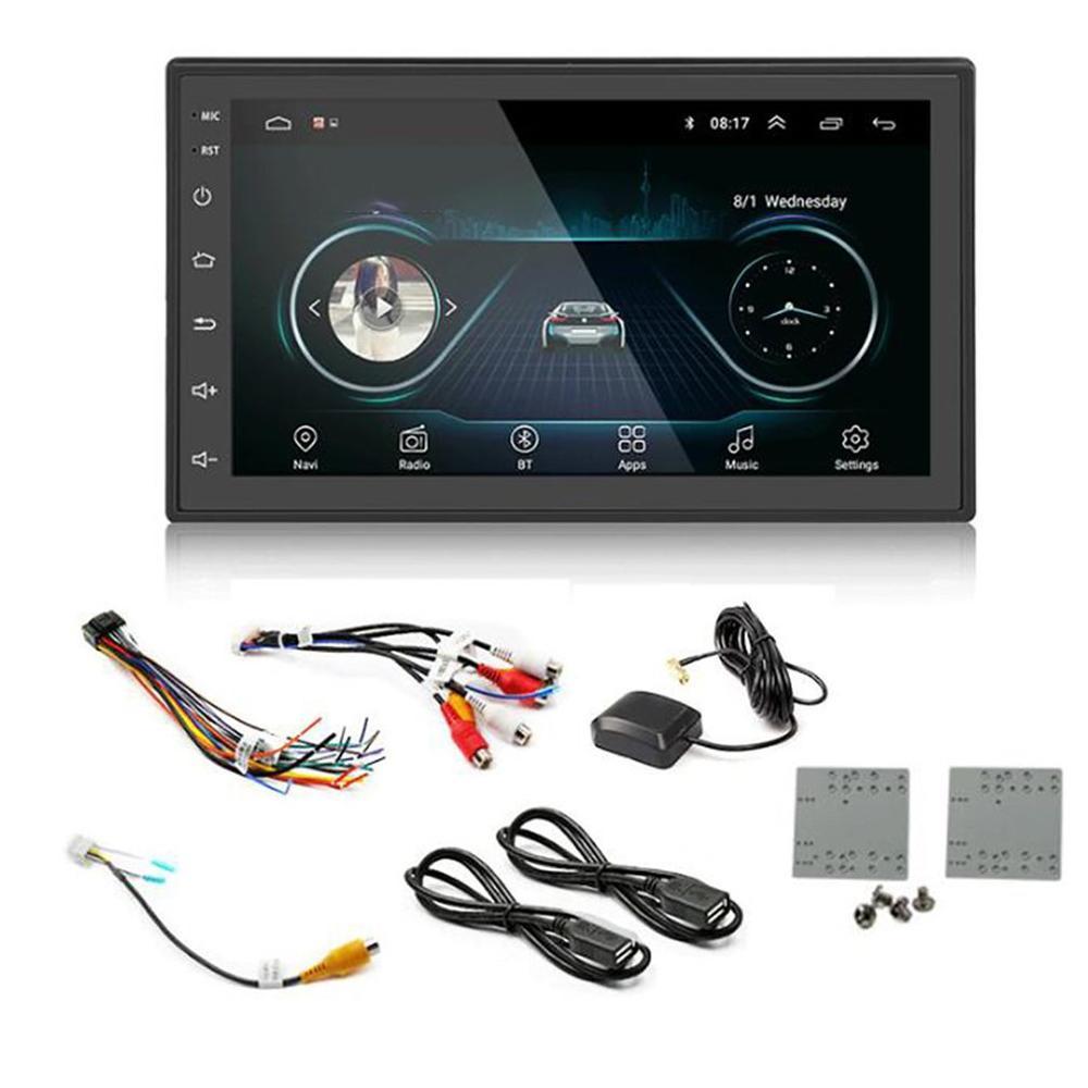7-zoll Doppel Din Auto Stereo Gps Navigation Auto Mp5 Player WiFi Telefon Spiegel Link Autoradio Gps Automotive mit hinten Kamera