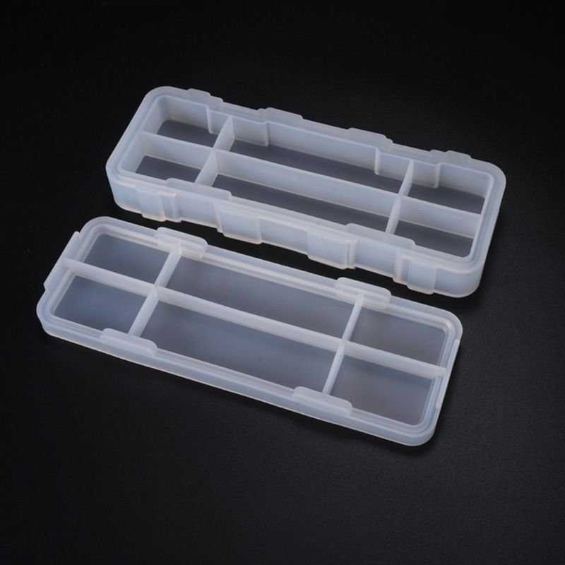 Simple Cute Stationery Pencil Box Mold School Office Supplies Silicone Mould DIY Crystal Epoxy Glue Molds