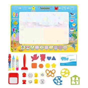 Drawing Toys Water Drawing Mat  Board Painting and Writing Doodle With Magic Pen Non-toxic Drawing Board for Kids