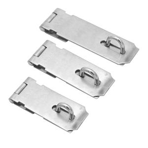 Solid Hasp Staple Gate Latches