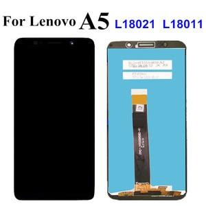 Image 2 - Pantalla LCD de 5,45 pulgadas para Lenovo A5 L18021 L18011 / A5s L18081LCD, montaje de digitalizador de Panel táctil para Lenovo A5