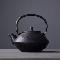 LUWU japanese cast iron tea kettle teapots with infuser iron tea pot drinkware 800ml