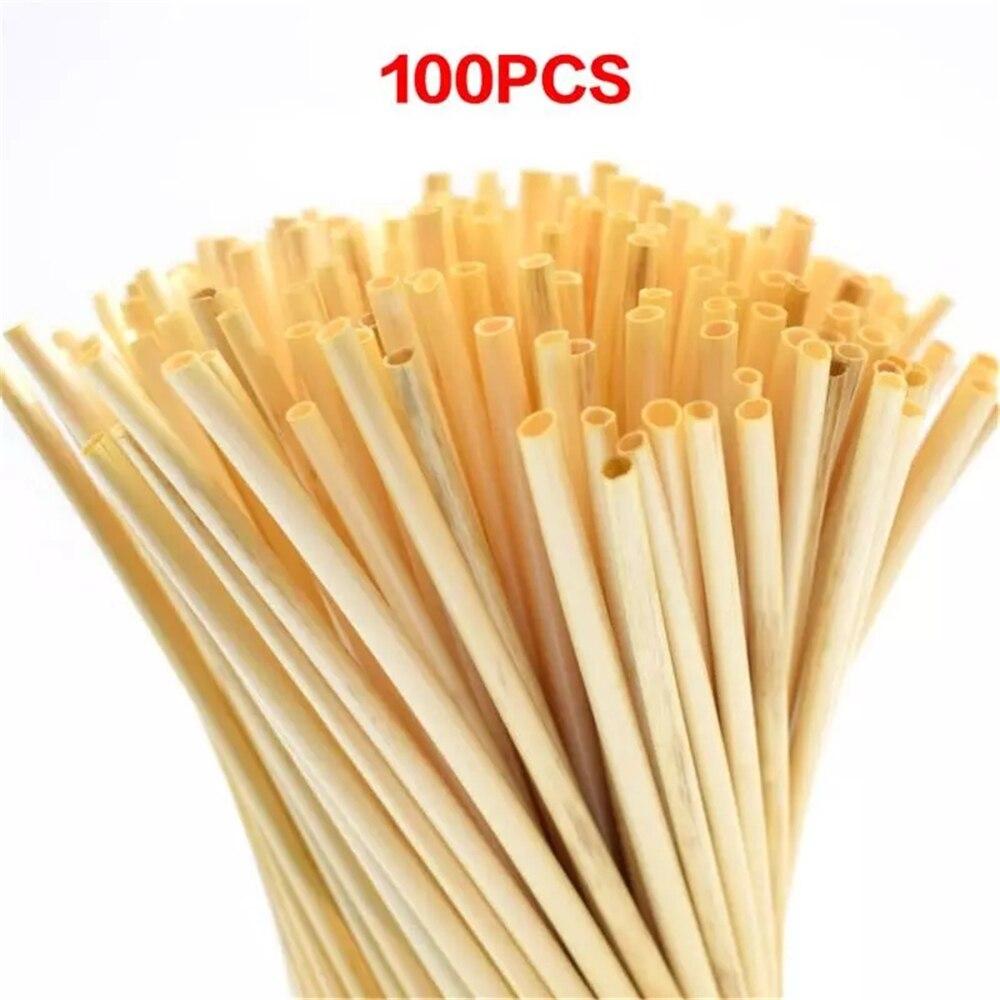 Wheat-Straw Environmentally-Friendly 100%Biodegradable Drinking-Straw-Bar Kitchen Natural