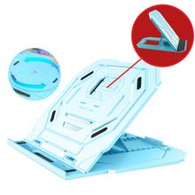 Obracanie 360 stopni regulowana elastyczna podstawka do laptopa podstawa składane akcesoria do notebooków uchwyt telefonu Cooler Professional Home tanie tanio Woopower CN (pochodzenie)