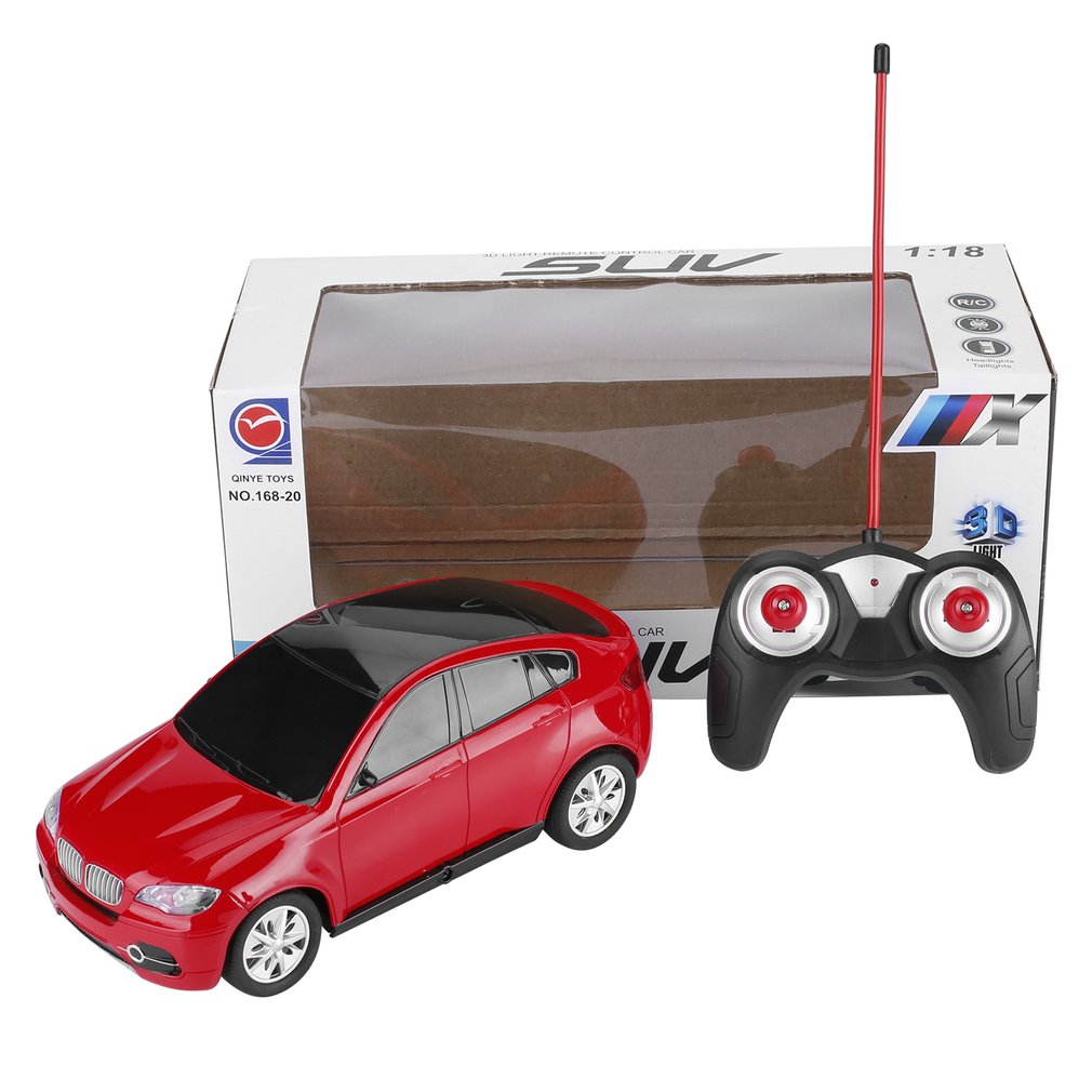 1:18 Electric RC Cars Toy Simulation Radio Remote Control Toys Vehicle Toys with 3D Lights Gift for Children Kids Boys Girls