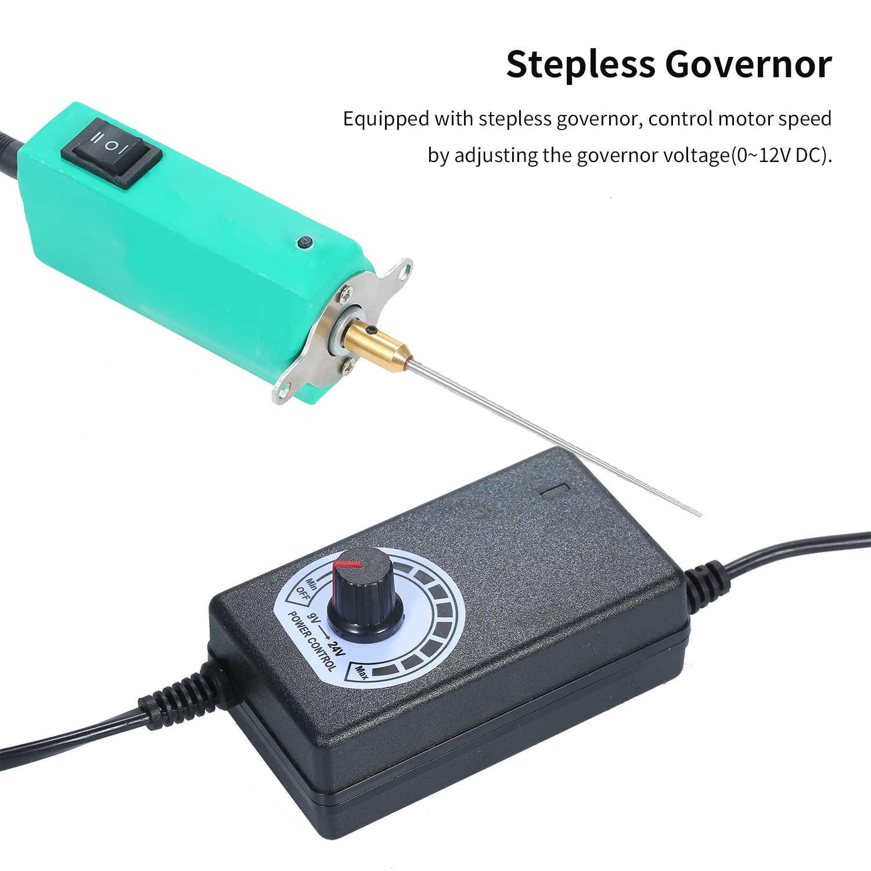 CJ6 +/9 + Listrik Penghapusan Perekat Rod Layar LCD Sekop Lem Alat Ponsel Menghapus OCA Lem Grinder karet Pemisah