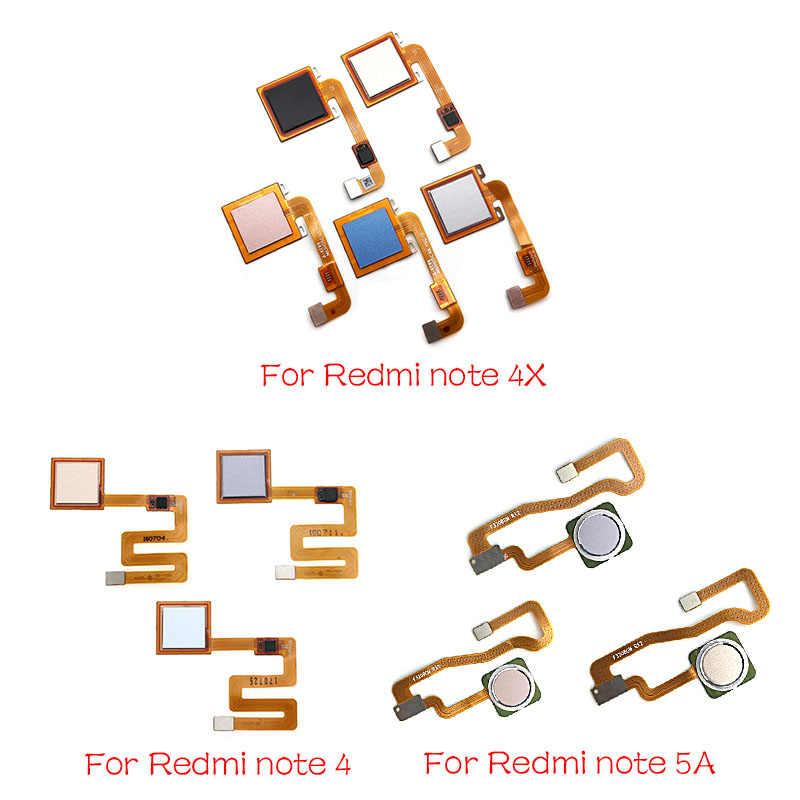 Домашний считыватель отпечатков пальцев для Xiaomi Redmi Note 4 4X5 5A 3 Pro сенсор Главная